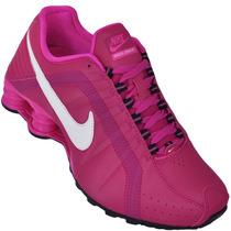 Tenis Feminino Nike Shox Junior Original Pink