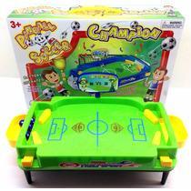 Mini Mesa De Futebol Pinball Com Luz E Som