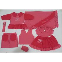 Kit Saída Maternidade Feminino 7 Peças Ref.102