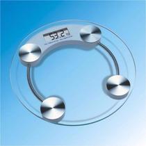 Balança Digital Eletrônica Vidro 180kg Academia Banheiro