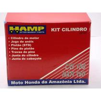 Kit Cilindro + Biela Titan Nxr150 Bros 150 Original Honda