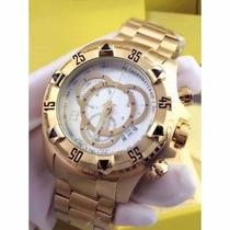 Relógio Masculino Dourado Excurssion Na Caixa Original