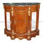 Dunquerque Buffet Portas Laterais Espelhadas Marmore Verde