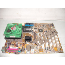 Kit Placa-mãe Asus A7v8x-x 462 Amd Sempron 1.6 Ghz 1gb Ddr