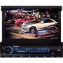 Dvd Retrátil 7 Aquarius Dpa 3001 Usb Touch Screen Mp3