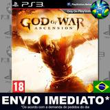 Ps3 God Of War Ascension Código Psn Português Envio Agora