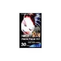 #1 Papel Fotografico P/ Impressora Hi-ti 730 Ps 30fls