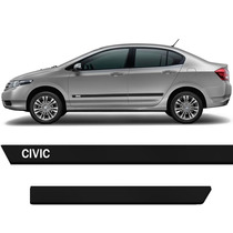 Friso Lateral New Civic 07/08/09/10/11/12/2013 Personalizado