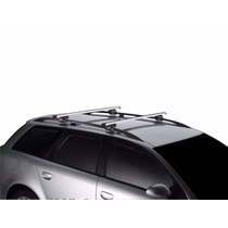 Travessas Spin Chevrolet Rack Thule Em Aluminio Smart 794