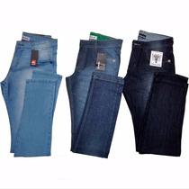 Kit Calça Jeans Masculino Lote Com 3 Unidades Atacado