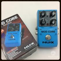 Pedal Nux Mod Core Chorus Flanger Phaser Vibrato + Brindes!