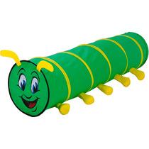 Tunel Centopeia 1,77m Sanfonada Brinquedo Infantil Minhocão
