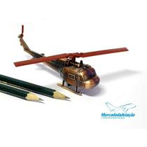 Miniatura De Ferro - Apontador - Helicóptero Bell Uh-1h