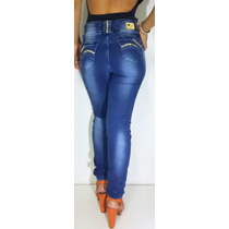 Calça Jeans Modeladora Elastico No Cos