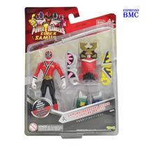 Samurai Megazord Armor Ranger Fogo 11cm Power Rangers Bandai