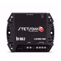 Módulo Amplificador Stetsom Iron Line Ir 160.2 160 Rms Digit