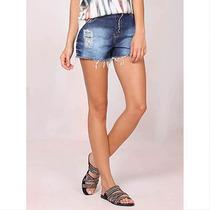 Shorts Jeans Feminino Denuncia