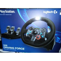 Volante Logitech Driving Force G29 Ps4 Ps3 Pc E-sedex
