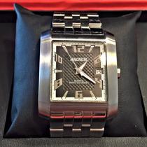 Relógio Magnum Ma21884 Original Aço Inox Automático Luxo