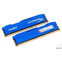 Memoria 8gb Ddr3 1600 Gamer Hyper X Fury Kingston Hx316c10f