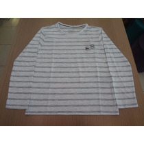 Camiseta Ellus Kids Cotton Ft Strips Classic - Listrado