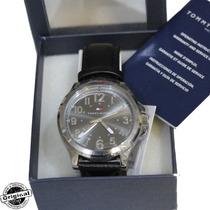 Relógio Tommy Hilfiger Masculino Pulseira Couro Original