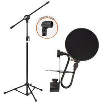 Sjf Microfone Usb Bku-01 Usb + Pedestal Vector + Pfe05