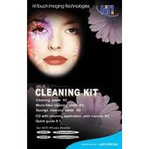 #1 Kit De Limpeza P/ Impressora Hi-ti Serie 63x