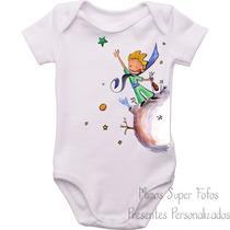 Body Baby O Pequeno Príncipe Aquarela