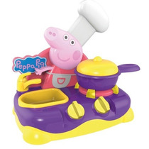 Peppa Pig Table Top Cozinha Musical Eletrônica Brinquedo