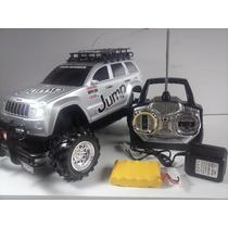 Jeep Carrinho Controle Remoto, Bateria Recarregável