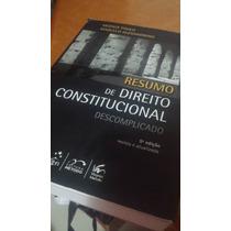Livro Resumo De Direito Constitucional Descomplicado 2011