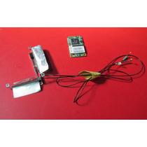Placa Pci Wi-fi Com Antena Para Notebook Positivo 67