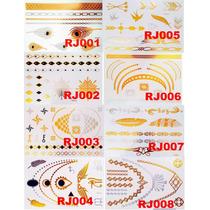 6 Cartelas Flash Tatuagem Metálica R$39,90 Frete Grátis!!!!