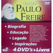Coleção De Dvds Paulo Freire Video Aulas