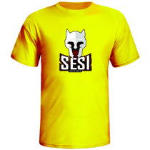 Camisa De Volei, Camiseta Sesi, Volei