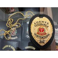 Distintivo Agente Segurança/escolta Penitenciária Asp - Aevp
