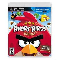 Jogo Ps3 Angry Birds Trilogy