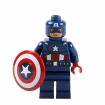 Boneco Lego Marvel Capitão America (sem Caixa)
