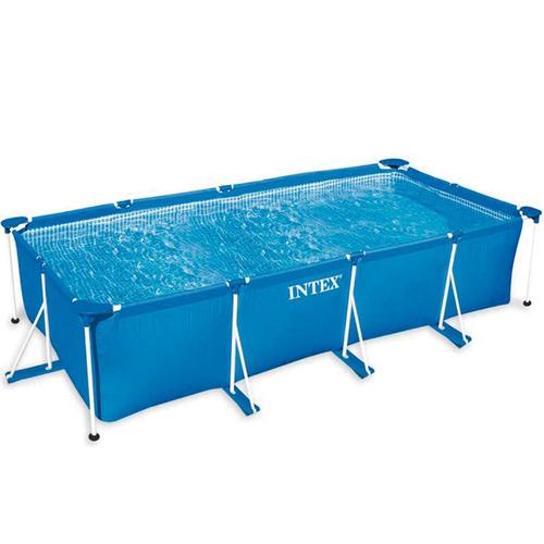 piscina estrutural retangular litros pvc arma o