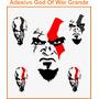 Adesivo Irado God Of War Grande 48cm X 88,5cm Ótimo Preço