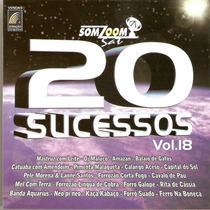 Cd Som Zoom - 20 Sucessos Vol. 18 - Novo***