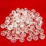 Contas Acrílicas Facetadas 10mm Imitação Cristal Pct 500 Un