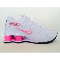 Tênis Nike Shox Junior Feminino Lindos Não Perca