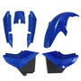 Kit Plástico Carenagem P/ Yamaha Ybr Ano 2000 2001 - Azul
