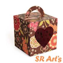 Silhouette - Caixa Lembrancinha Aniversário Namorado Decorar