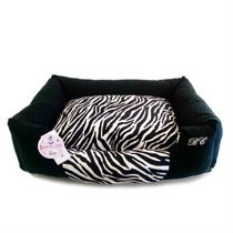 Cama Bichinho Zebra Para Caes Gatos Tamanho G
