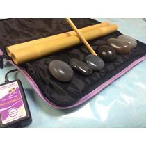 Bolsa Aquecedora 220v D/pedras Quentes + 6 Bambus + 6ágatas