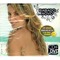 Cd + Dvd Claudia Leitte Babado Novo Ver Te Mar Lacrado Raro