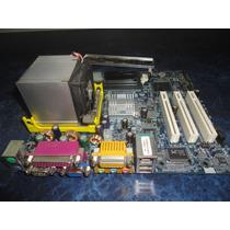 Kit 478 Placa Mãe + Processador Diversas Marcas P4/celeron